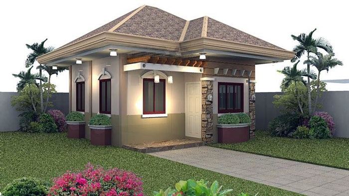 Minimalist small house design brilliant ideas from great for Tips for decorating a small house