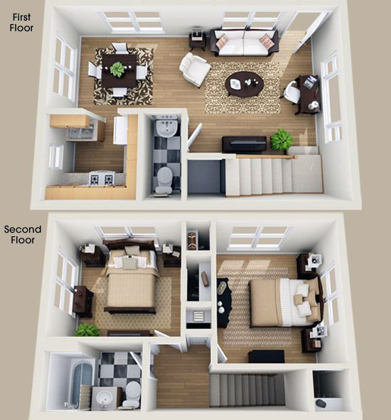 Two-storey house design plans and ideas