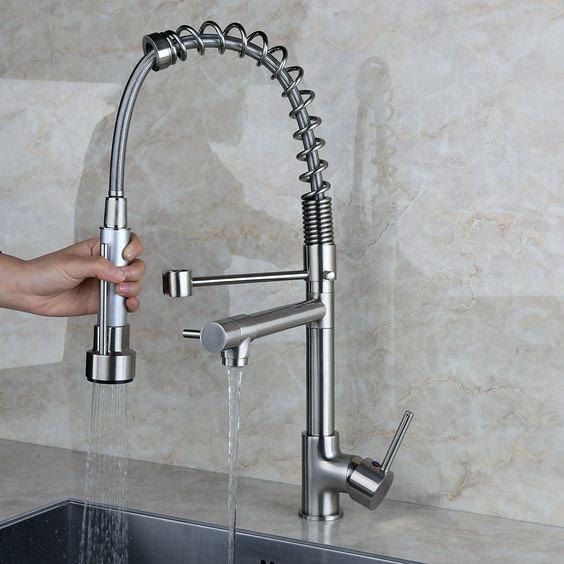 Fusion kitchen faucet