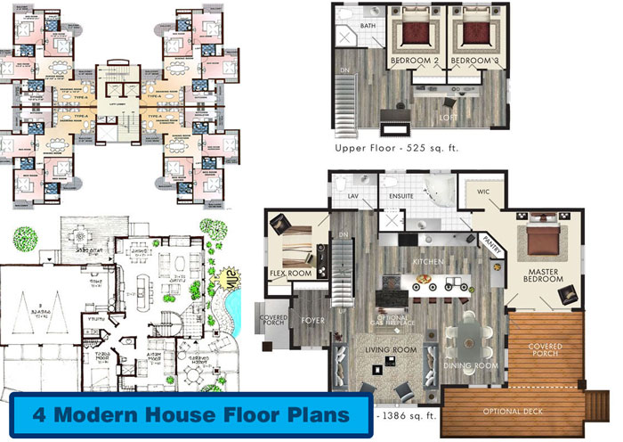 Exceptional Modern House Floor Plans