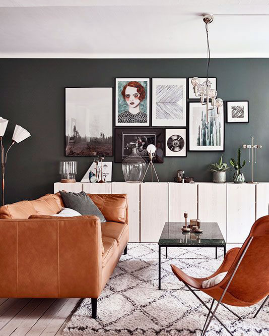 The latest scandinavian furniture design for small living room