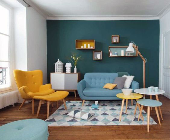 Scandinavian furniture design for living room free