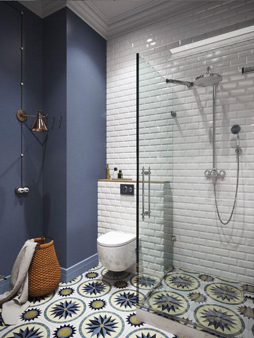 Contemporary small bathroom interior ideas