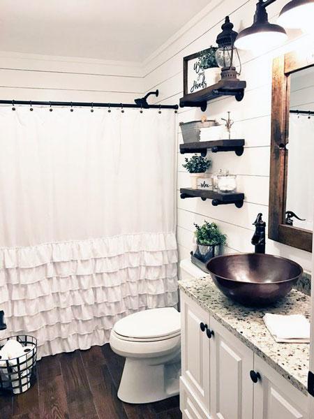 Simple Small Bathroom Decor Brings The Ease Inside Of It ... on Small:e_D8Ihxdoce= Bathroom Ideas  id=79571