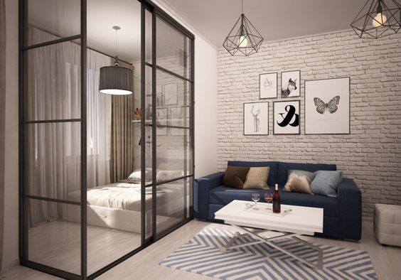 The best small studio apartment design for men