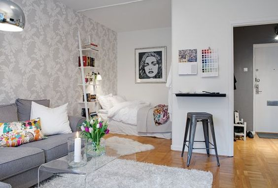 10 best small studio apartment design for men
