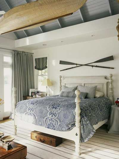 nautical bedroom style