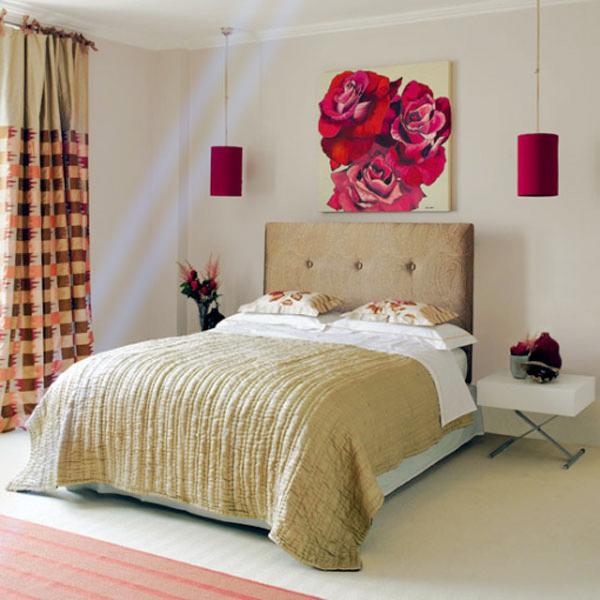flower bedroom design