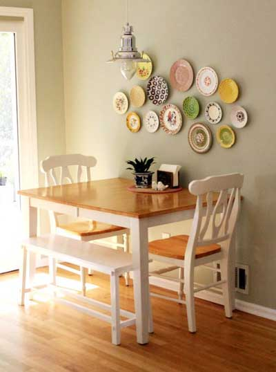 gorgeous small dining room