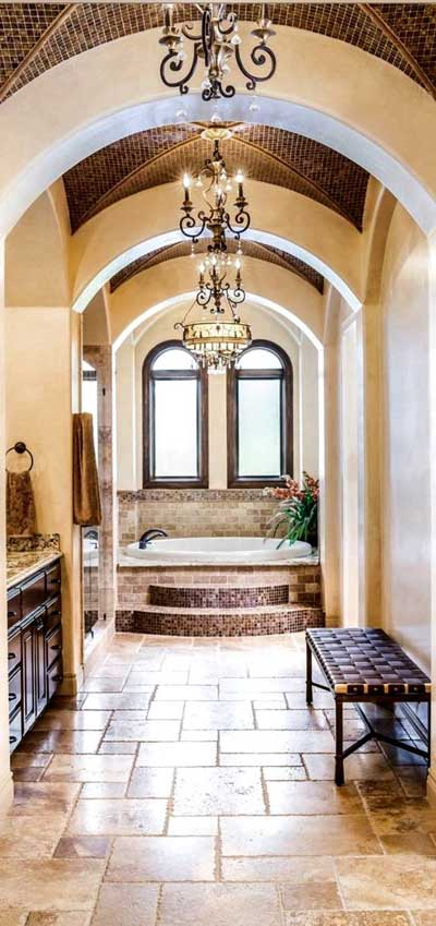 mediterranean bathroom furniture