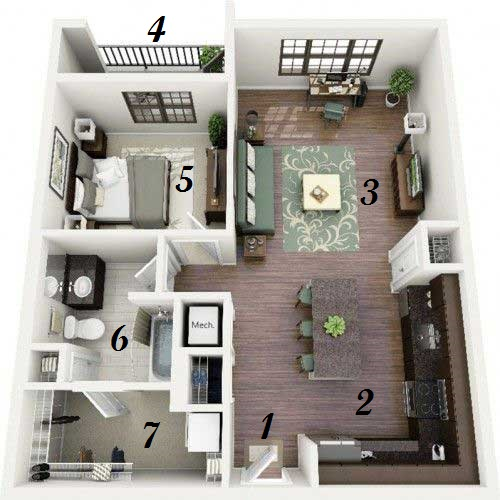 3 Inspiring Studio Apartment Design Plans that You Can ...