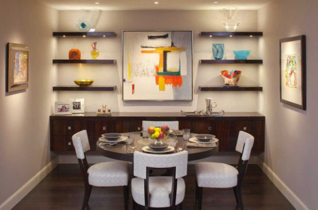 Small Dining Room Decor Ideas for Your Home and Apartment - RooHome