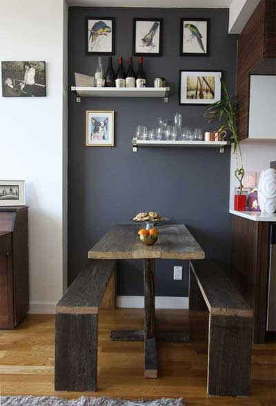 small space dining room