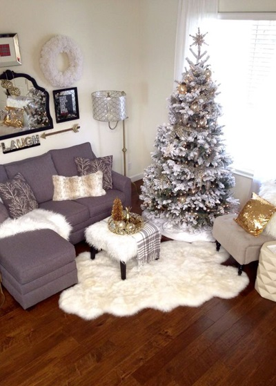 christmas living room decor 4