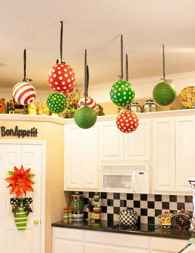 Christmas kitchen decoration 4