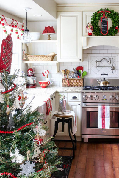 Christmas kitchen decoration 5