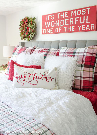Christmas bedroom decoration 2