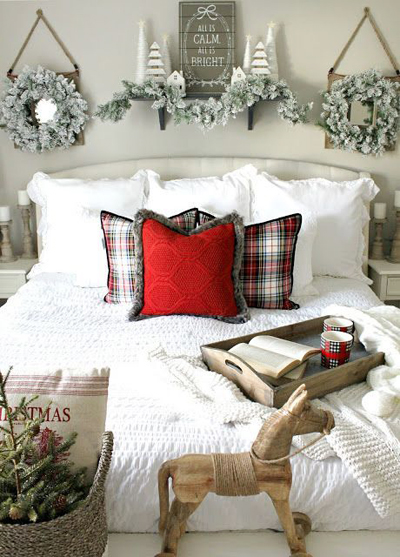 Christmas bedroom decoration 5