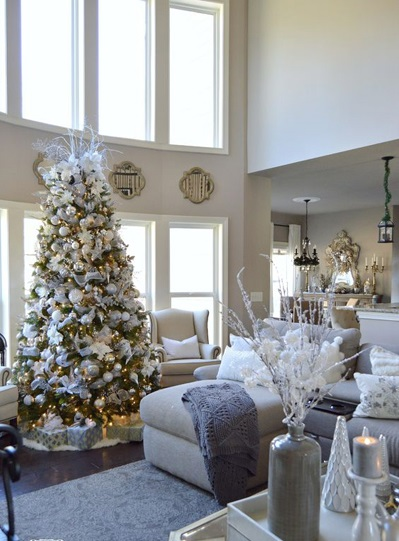 christmas large living room decor 1