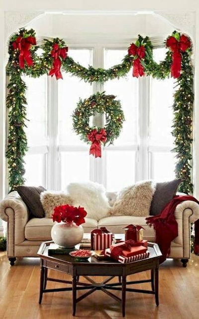 christmas living room decor 1