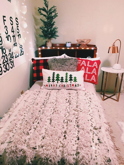 christmas bedroom decor 1