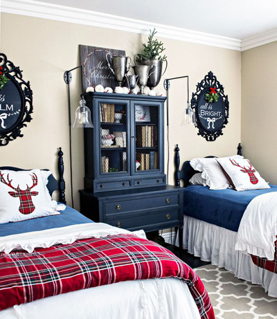 christmas bedroom decor 3