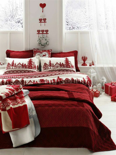 christmas bedroom decor 5