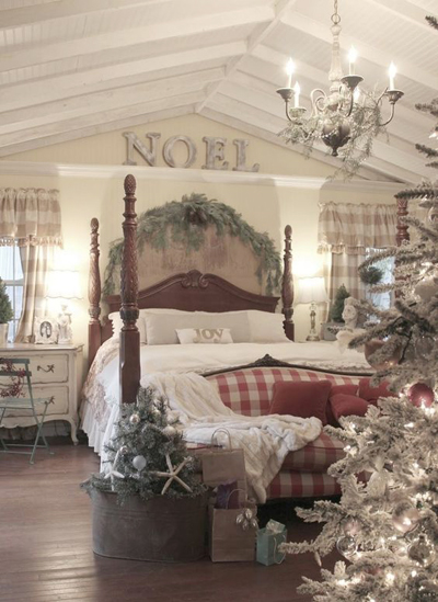 christmas bedroom decor 6