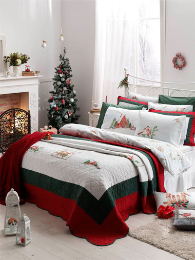 christmas bedroom decor 7