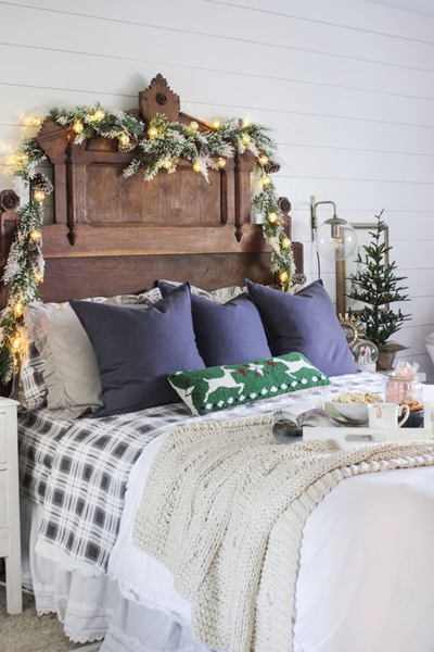 christmas bedroom decor 8