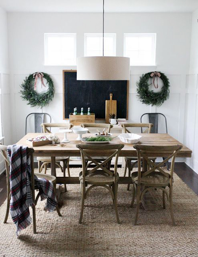 christmas dining room decor 2
