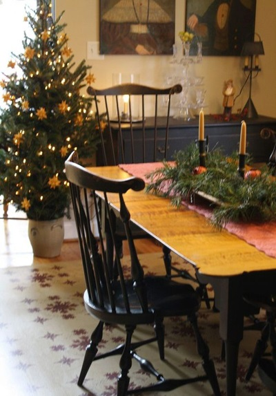 christmas dining room decor 4