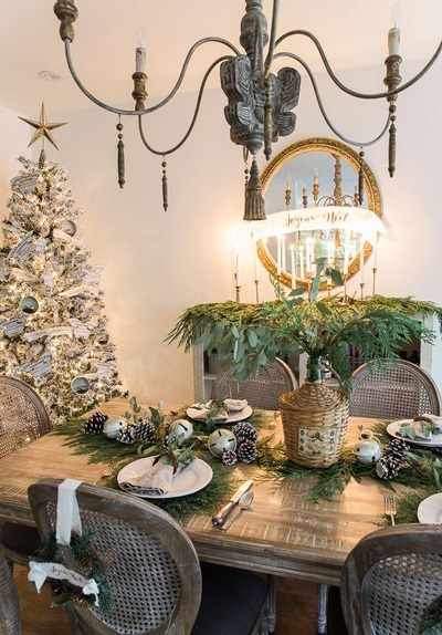 christmas dining room decor 5