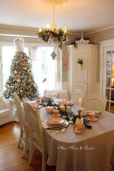 christmas dining room decor 6