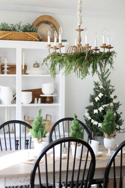 christmas dining room decor 7