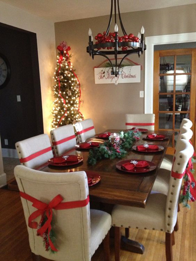 christmas dining room decor 9