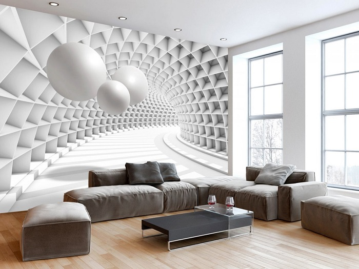 Innovative Wall Murals Ideas For Modern Living Room Decor Roohome