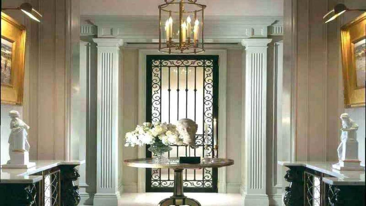 Design Ideas To Create Your Hall And Entrance Interior - RooHome