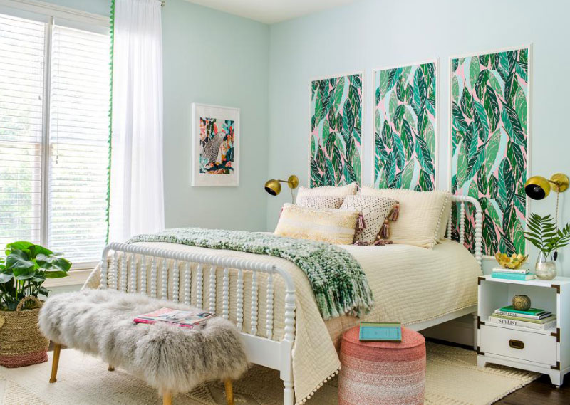 5 Simple Designs Beautiful Bedrooms for Teenager - RooHome