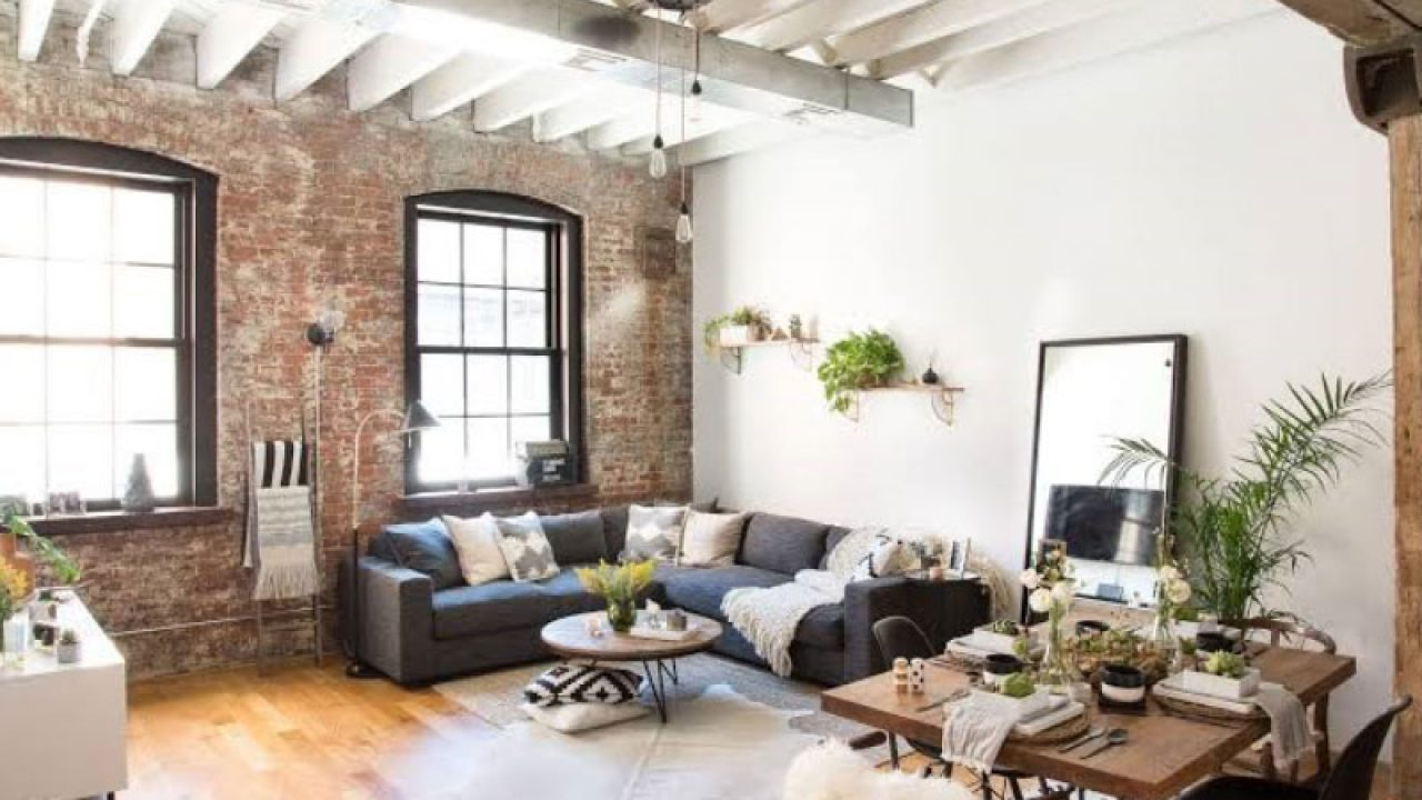 10 Rustic Industrial Living Room Design Ideas Roohome