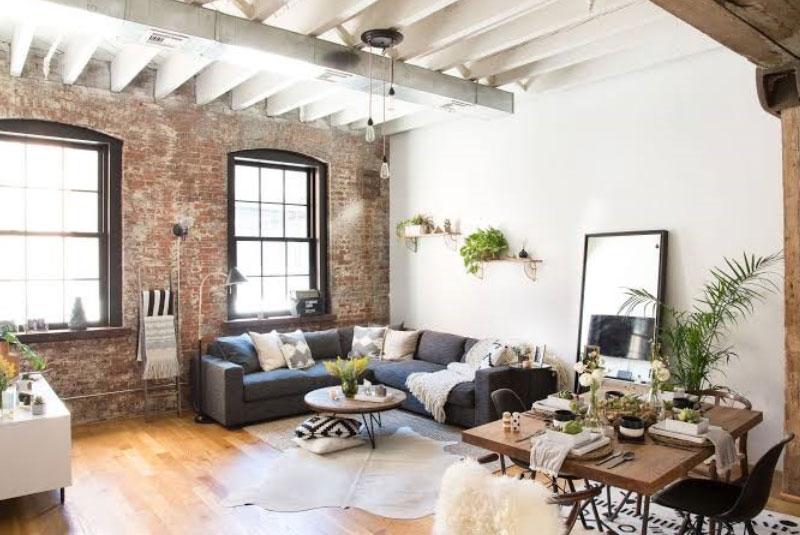 10 Rustic Industrial Living Room Design ideas - RooHome