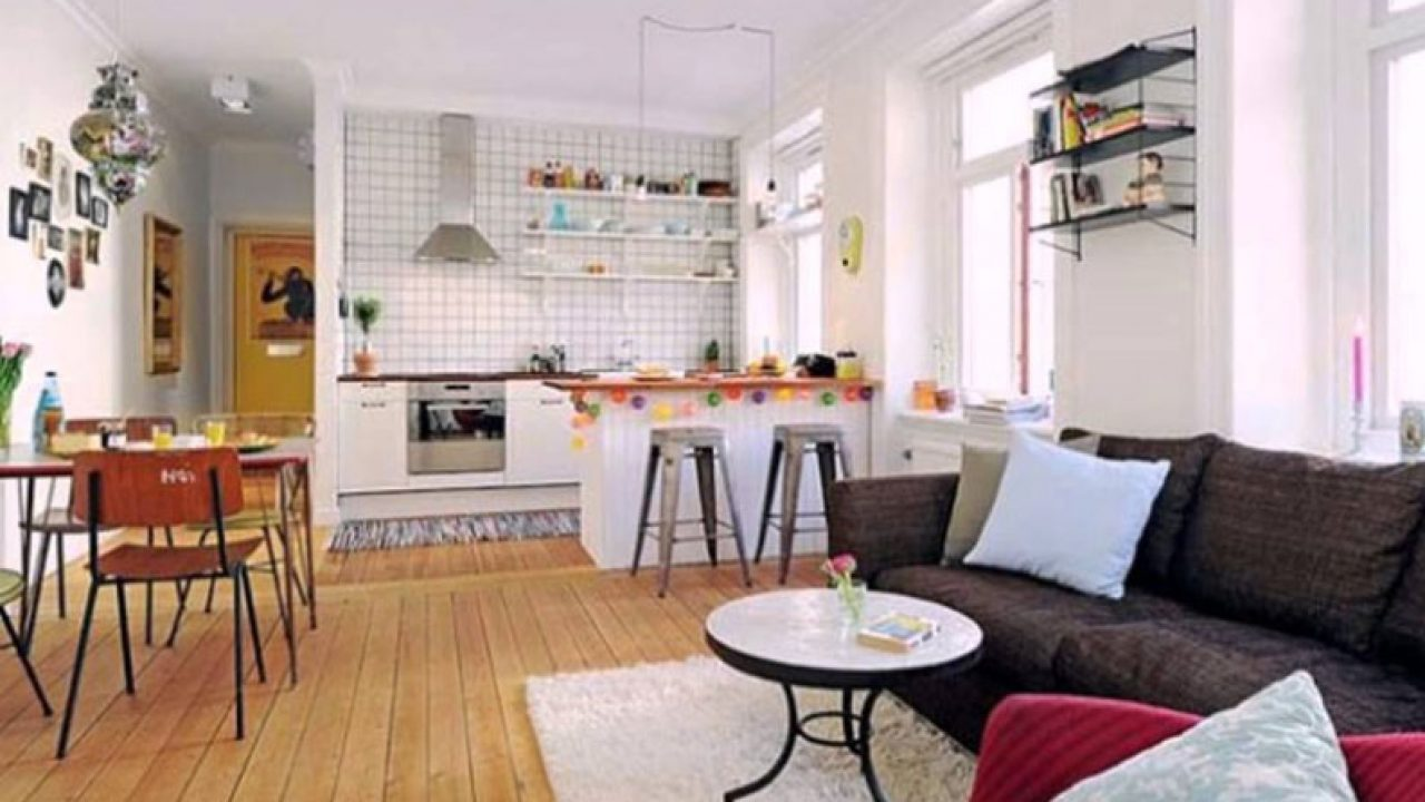 Inspiring Kitchen Living Room Design Ideas   RooHome
