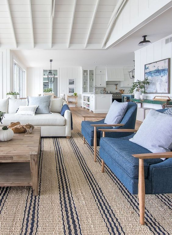 sea nuance living room idea