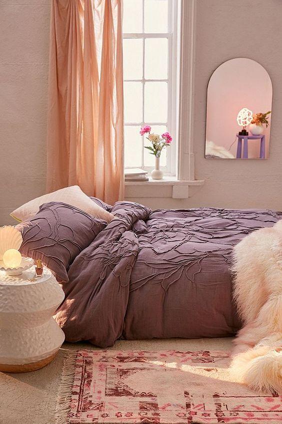 girly bedroom look