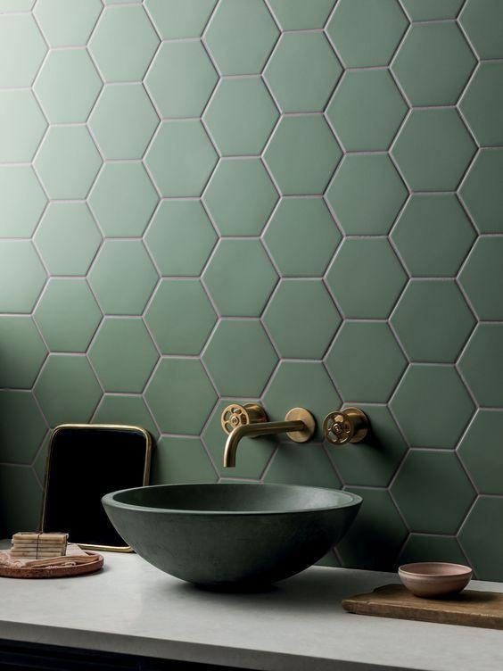 Green Army Bathroom Decor