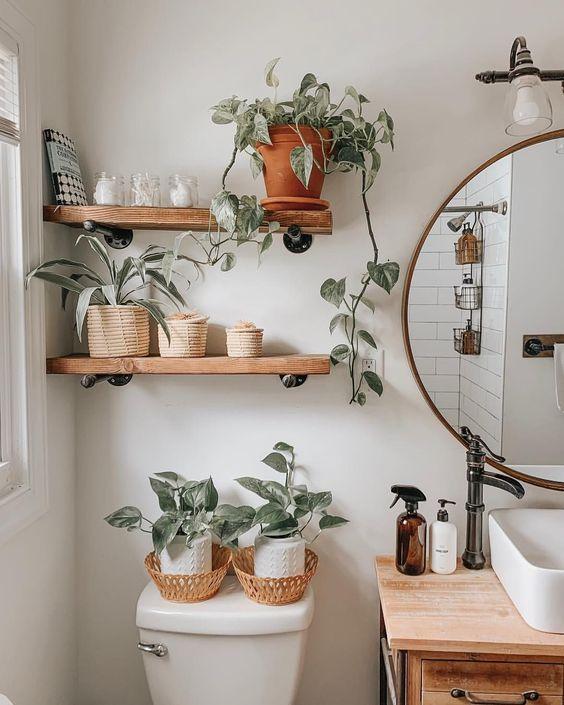 Warm Bathroom Nuance Decors