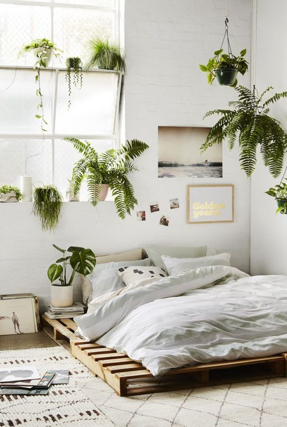 Fresh-Looked White Bedroom