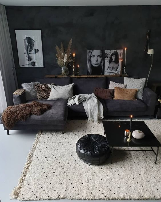 Masculine Living Room Decor