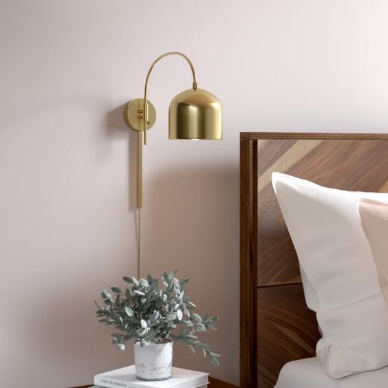 sconce lighting bedroom