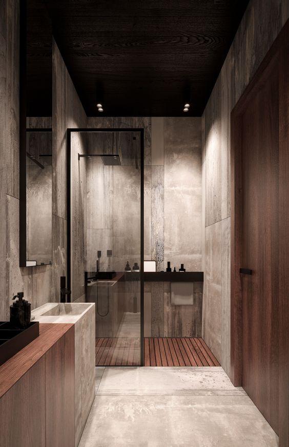 Industrial Luxurious Bathroom